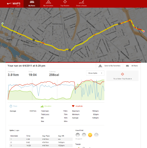 nike plus maps preview
