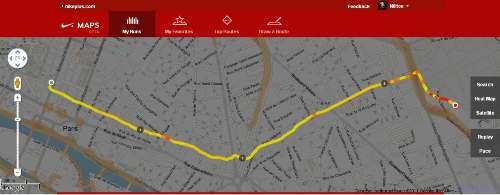nike plus maps route 2